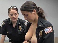Shemale Cop Fucks Guy Milf Cops