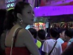 Thai Street Hookers Ladyboys Candid Compilation...