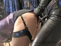 Amazing Amateur Shemale Scene With Bdsm Latex...