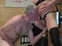 Homemade Act With A Mature Pevert Ts
