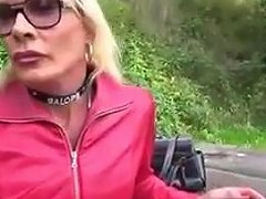 Blonde Mature Ts Compilation