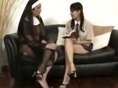 Shemale Nuns Fuck A Lovely Girl
